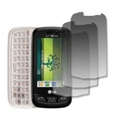 EMPIRE 3 Pack of Screen Protectors for Verizon LG Cosmos Touch VN270