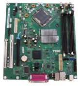 This is a Genuine Dell Optiplex 745 Desktop DT Motherboard Intel Q965 (ICH8) Express Chipset Dell Compatible Part Numbers