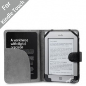Acase(TM) Leather Case for Kindle PaperWhite and Kindle Touch Wi-Fi / 3G