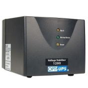 OPTI-UPS SS1200 600W 1200VA Stabiliser Series 6-Outlet Automatic Voltage Regulator