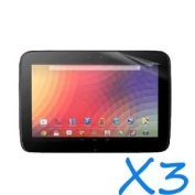 GMYLE(R) Matte Anti-Glare Perfect fit Film Screen Shell Protector for Google Nexus 10