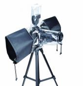 Polaroid SLR Rain Cover Protector For The Nikon 1 J1, J2, J3, V1, V2, S1, D40, D40x, D50, D60, D70, D80, D90, D100, D200, D300, D3, D3S, D700, D3000, D5000, D3100, D3200, D7000, D5100, D4, D800, D800E, D600, D7100, D5200 Digital SLR Cameras