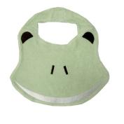 Animal Pals Frog Bib in Green