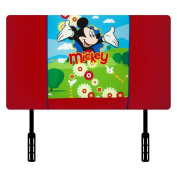 Kidz World Disney Mickey Mouse Clubhouse Twin Upholstered Headboard