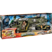 The Corps Total Soldier Flying Fortress Transport Helicopter Action Figure Play Set