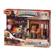 The Corps Total Soldier Battle Zone Command Warehouse Action Figure Play Set