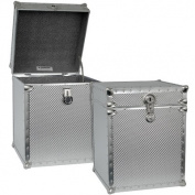 Embossed Steel Tall Cube Storage Trunk
