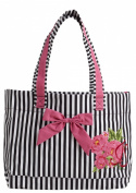 Parlour Floral Tote Bag with Bow