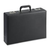 Lorell(R) Expandable Attache Case, 32cm .H x 44cm .W x 10cm .D, Black