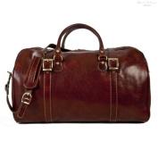 Torino 50cm Italian Leather Duffel
