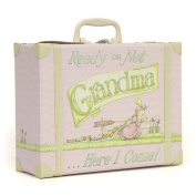 Ready or Not Grandma Here I Come Suitcase - Pink