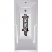Carve Skateboard Bath Tub and Shower Mat