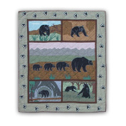 Bear Country Throw Quilt