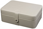 Remy Forty Five Section Jewellery Box in Ivory