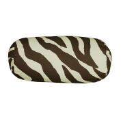 Brown Zebra Neckroll Pillow