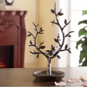 SPI Home Bird and Twig Jewellery Tree and Nest Stand