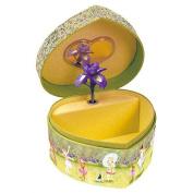 Enchantmints Posies and Petals Heart Shaped Music Box