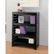 Devine Three Tier Shelf in Black
