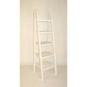 Ladder Shelf in White