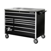 140cm 11 Drawer Professional Roller Cabinet in Black
