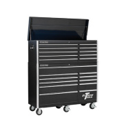 140cm Combo Tool Chest and Roller Cabinet in Black