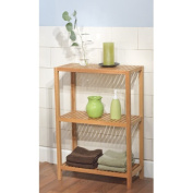 Bamboo 3 Tier Horizontal Shelf