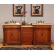 Emily 210cm Double Sink Bathroom Vanity Set