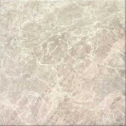 DuraCeramic 40cm x 40cm Pacific Marble Vinyl Tile in Light Greige