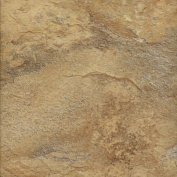 DuraCeramic 40cm x 40cm Sierra Slate Vinyl Tile in Flaxen