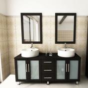 150cm Double Sink Bathroom Vanity Set