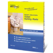 Adjustable Toilet Safety Rails