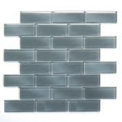 Mardi Gras 30cm x 30cm Glass Mesh Tile in Metairie