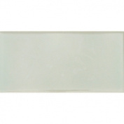 Hand-Painted Ceramic 7.6cm x 15cm Glazed Field Tile in Nieve