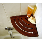 Teak Shower Shelf - From the Corner Collection