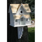 Classic Series Gingerbread Cottage Bird House with Bracket