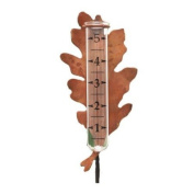 Oak Leaf Rain Gauge