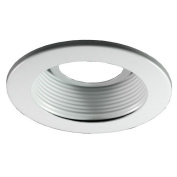 Royal Pacific 0.9m Baffle Trim for Recessed Housing in White
