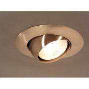 20cm x 20cm Recessed Light in Brushed Nickel