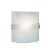 TransGlobe Lighting 1 Light Wall Sconce with Frosted Shade1
