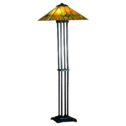 Meyda Tiffany Martini Mission Floor Lamp