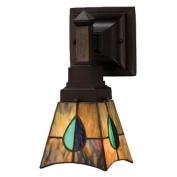 Meyda Tiffany Mackintosh Leaf 1 Light Wall Sconce