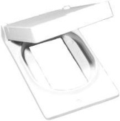 One Gang Weatherproof Covers in White for Vertical GFCI / Decorator