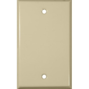 Gang and Blank Metal Wall Plates in Ivory