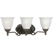 Renovations Vanity Light in Forged Bronze