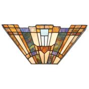 Inglenook 2 Light Tiffany Wall Sconce