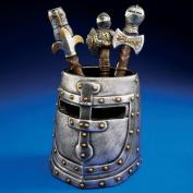 Knight's Templar Helmet Desk Accessory in Two-Tone