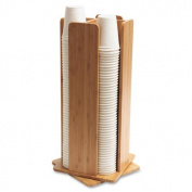 Baumgartens Qi Bamboo Desk Organiser