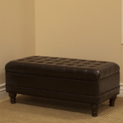 Delux Tufted Bedroom Storage Ottoman
