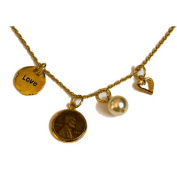 Love and Charms Lincoln Penny Pendant