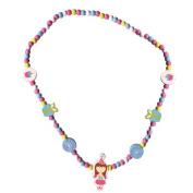 Sassafras / Wooden Bead Necklace, Birthday Girl